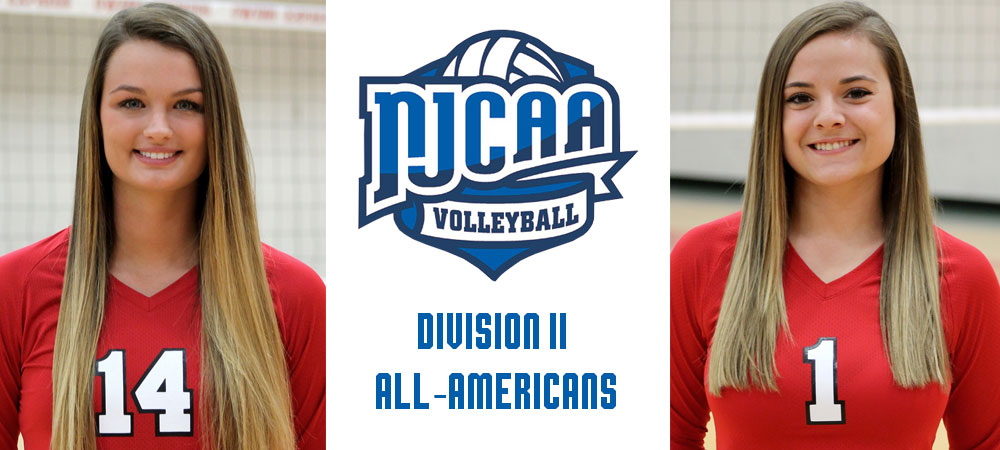 Erika Angstmann and Niki Polce were named to the NJCAA All-American team on December 7, 2017.
