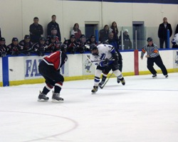 Falcon men's hockey shut out at MSOE