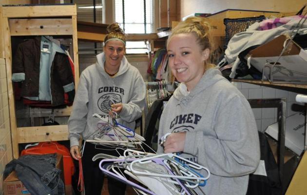 Coker Student-Athletes Give Back to the Community in Honor of MLK