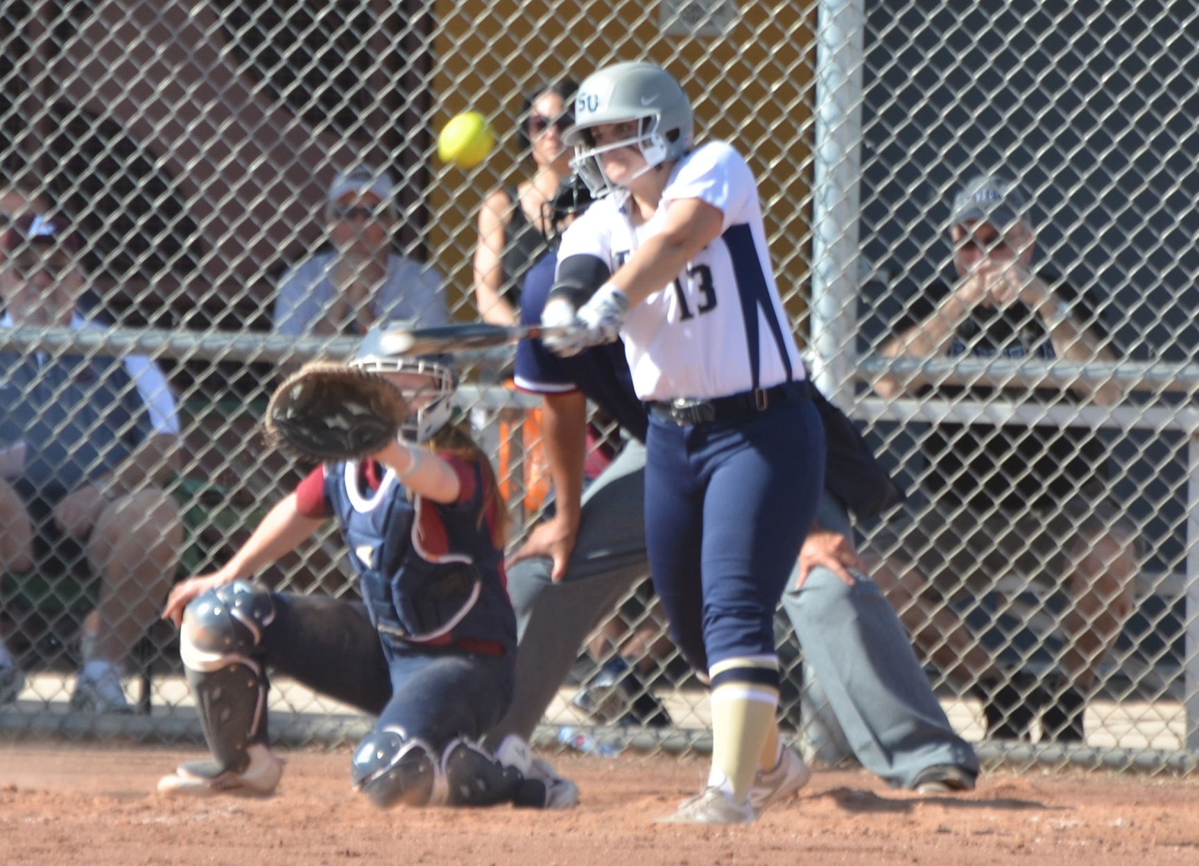 CHAMPIONSHIP BOUND: Softball Eliminates Albertus Magnus in Extras, 9-2