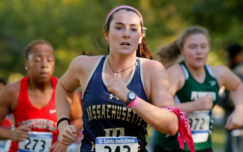 Hamilton Leads Women's Cross Country To Eighth Place Finish At University Of New England Invitational