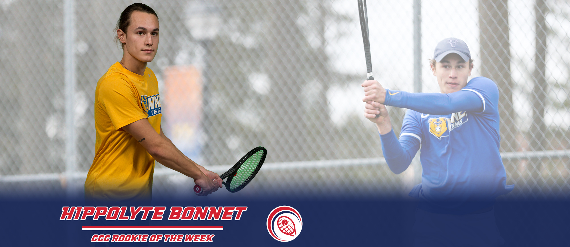 Hippolyte Bonnet Collects Second Consecutive CCC Rookie of the Week Honor