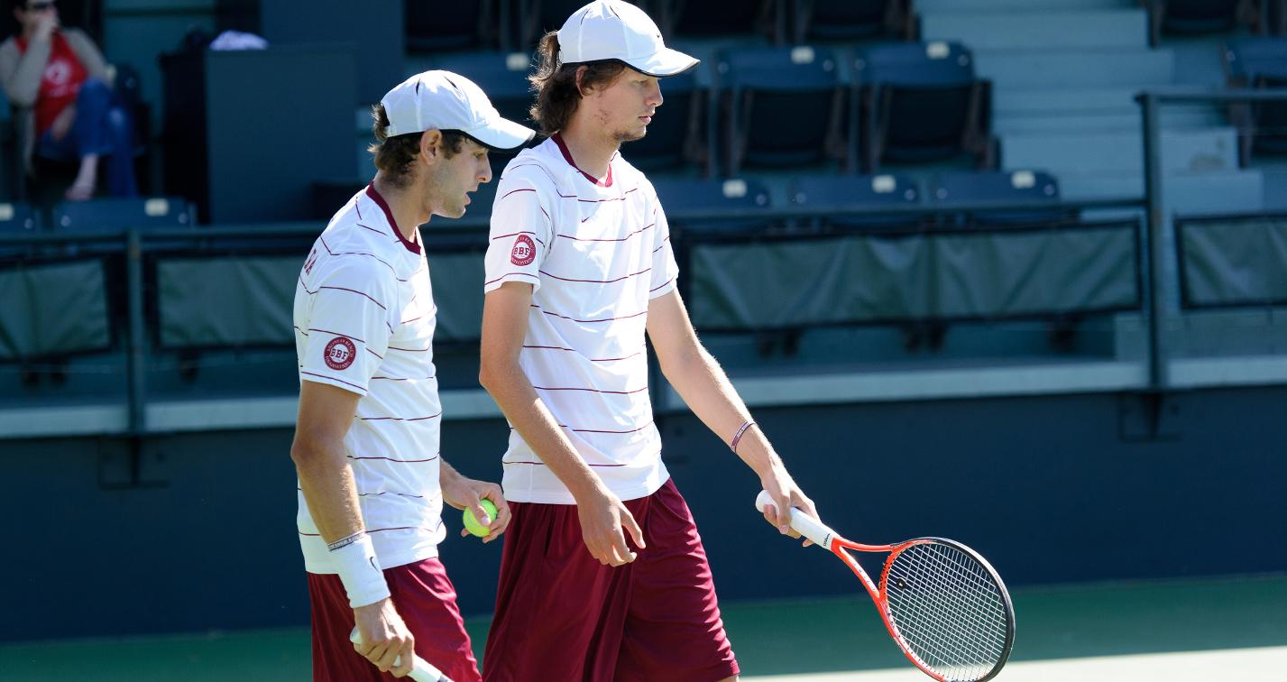 Lamble & Osintsev Named to Men's Tennis All-WCC Tournament Team