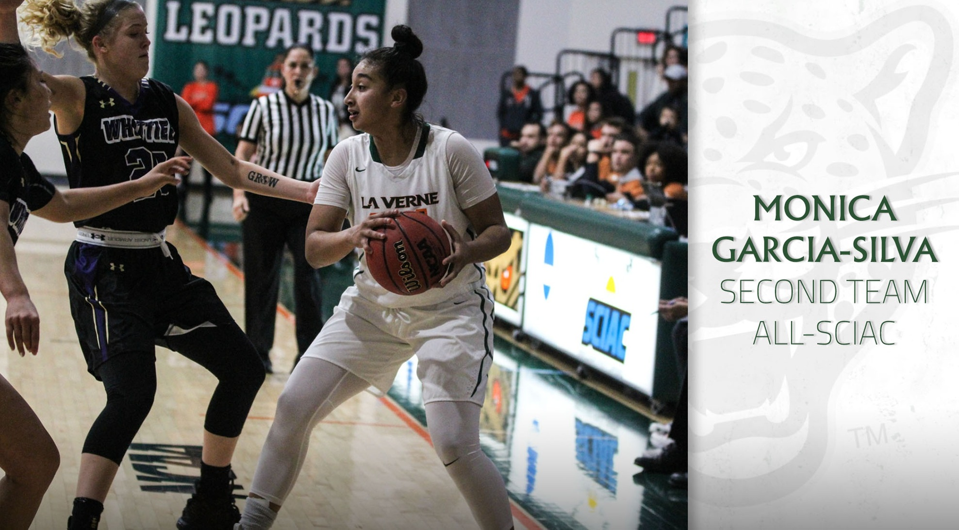 Garcia Silva Named All-SCIAC