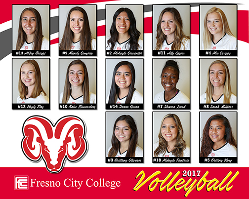 Meet The Volleyball Rams