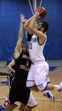 Number 999 for Concordia men's basketball