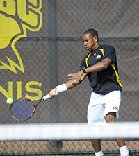 Justin Carter Continues to Dominate America East Men's Tennis Scene