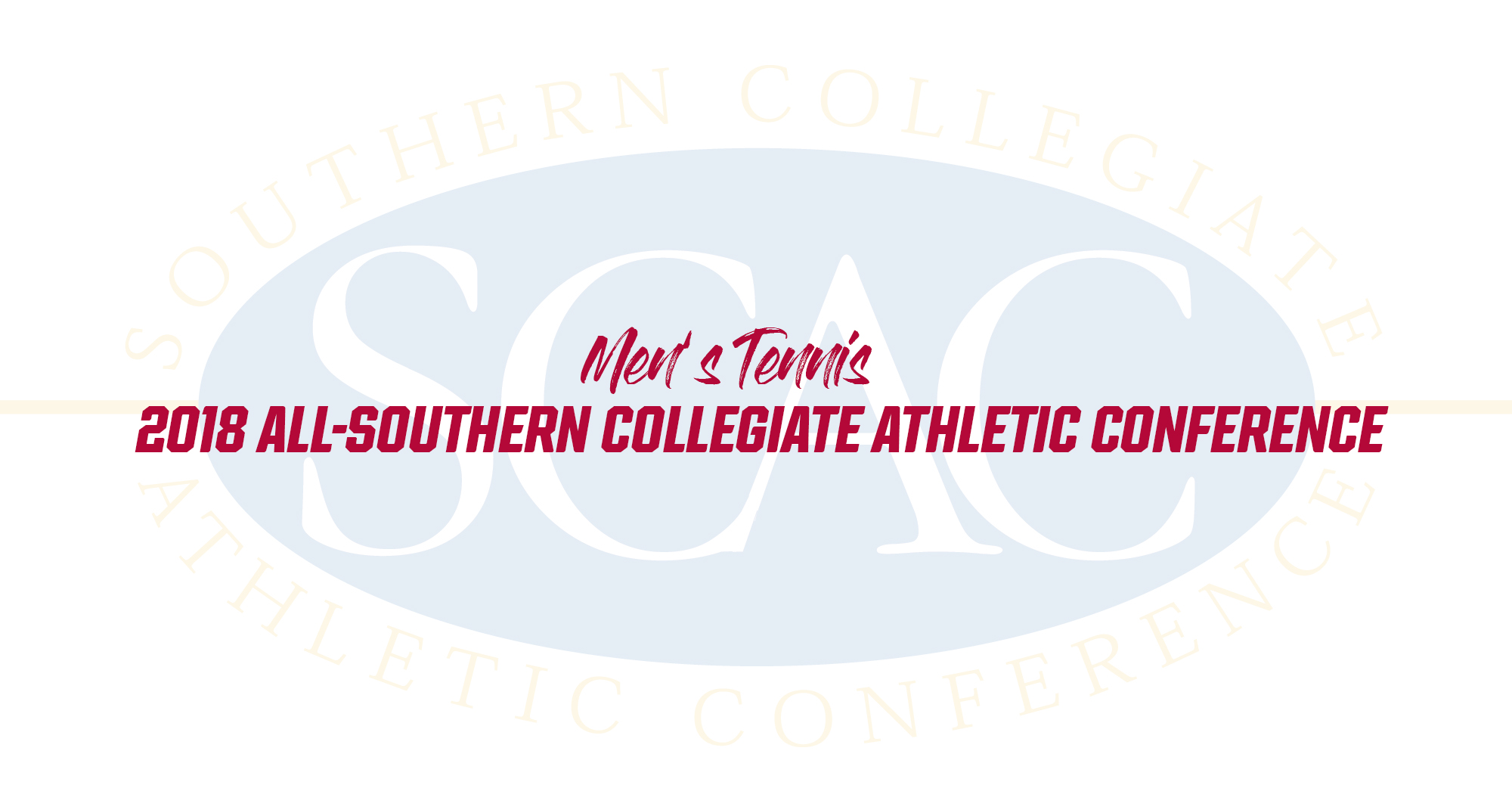 Four 'Roos Earn All-SCAC in Men's Tennis