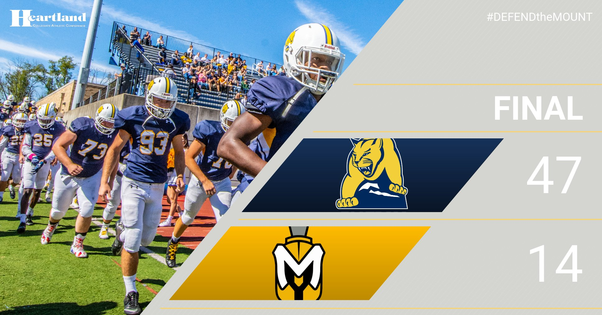 Records Fall, and The Mount Continues to Stand Tall in 47-14 Win at Manchester