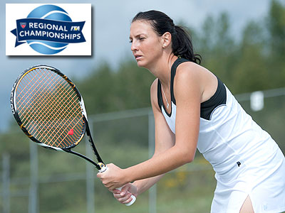 Alina Stanila and the Bulldogs competed in this weekend's ITA Regional Championships (FSU Photo Services)