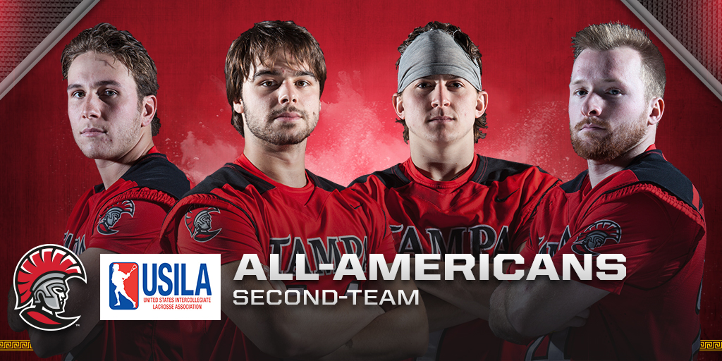 Tampa Men's Lacrosse Receives Four All-American Selections