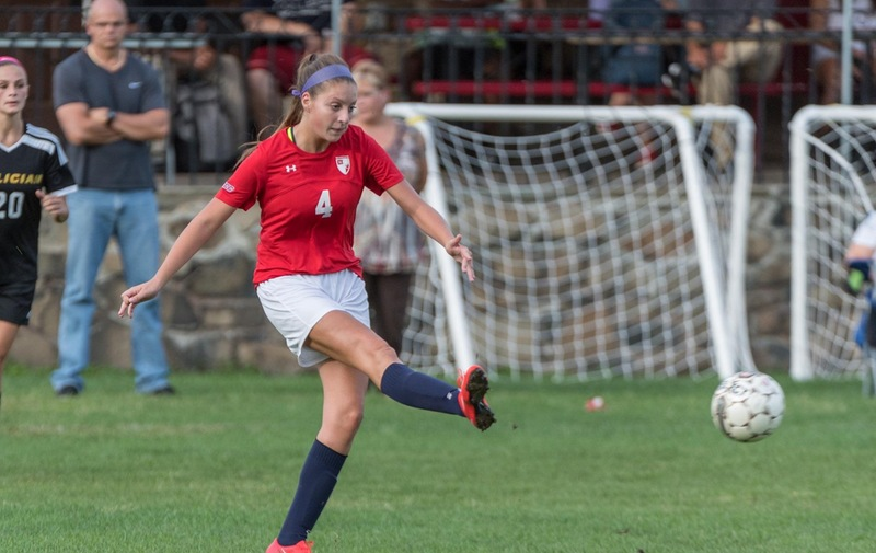 Lady Warriors Score First Goal in Road Loss to Mercy