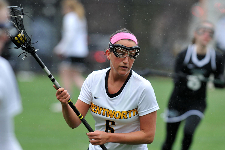Paradis Reaches Milestone in Women's Lacrosse Loss to Elms