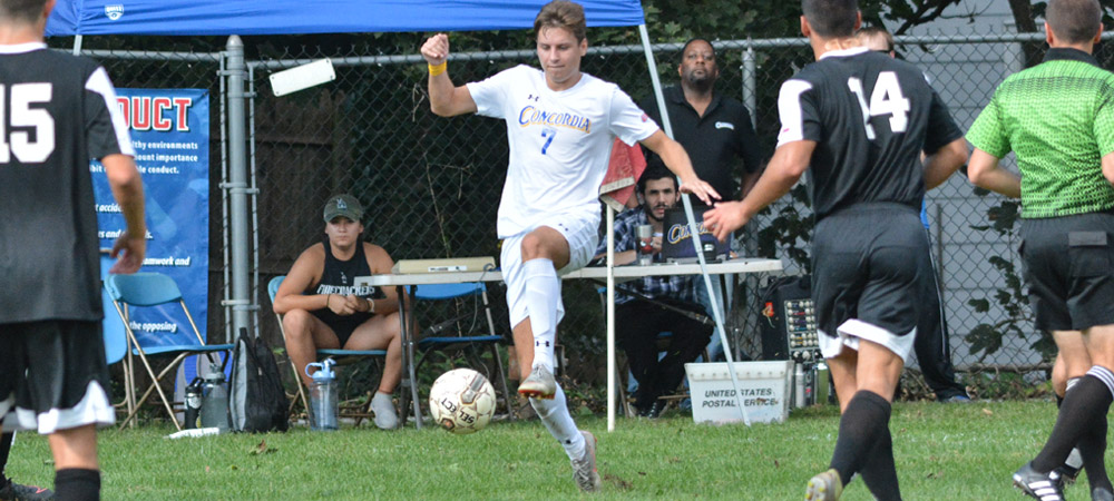 Men's Soccer Victorious In Back-And-Forth Match At Nyack, 4-3