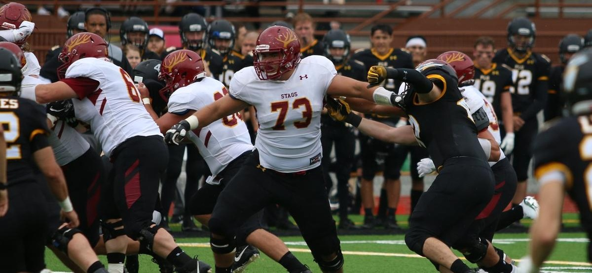 Brian Wahl Wins SCIAC Offensive Player of the Week for CMS Football