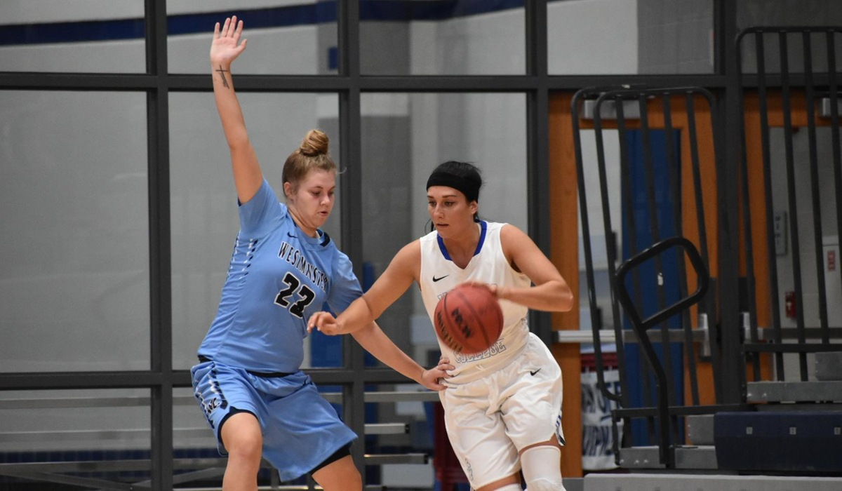 Westminster Women's Basketball Grabs First Program Win Over Central