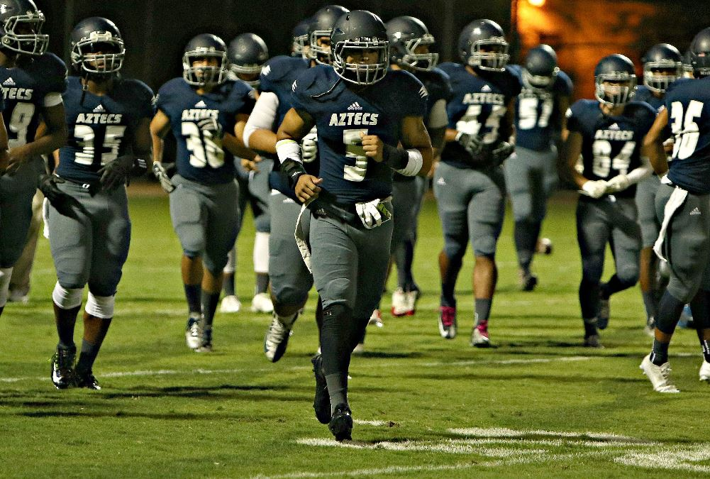 Payne and Moore Lead Ground Game as Aztecs Football Trounce Scottsdale