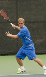 Recknagel Highlights Gauchos' Weekend at the ITA Regional Tournament in Irvine