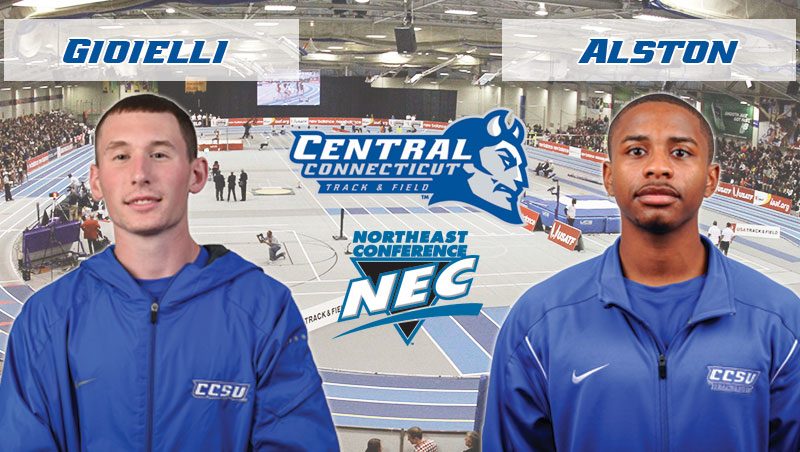 Gioielli, Alston Collect NEC Weekly Honors