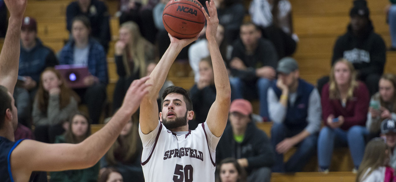 Men's Basketball Races Past Elizabethtown In Hampton Inn West Springfield/Naismith Classic