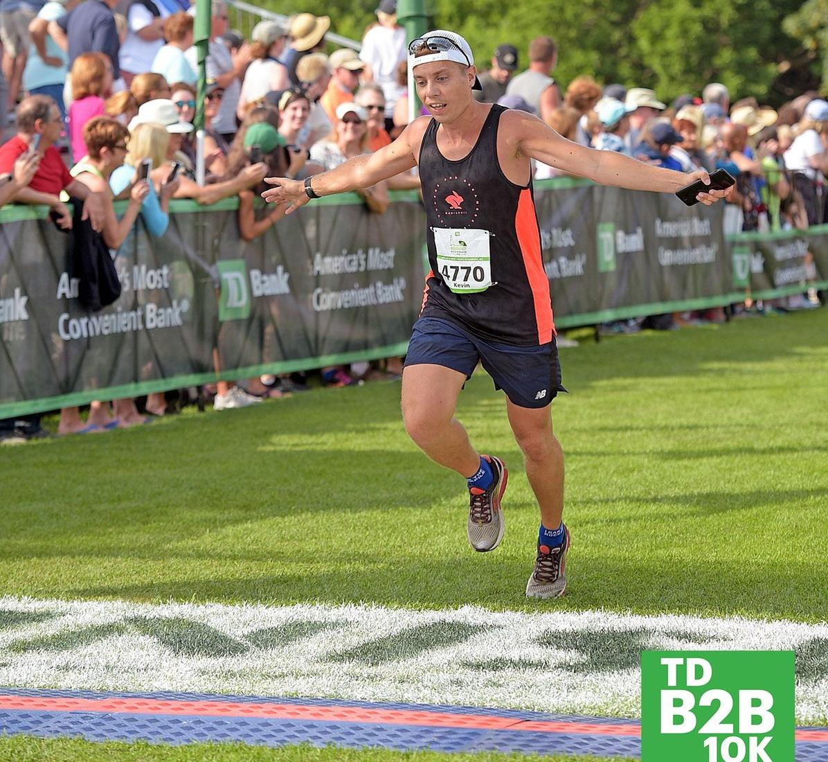 Coach Mitchell finishes strong at the 2019 Beach to Beacon 10K race