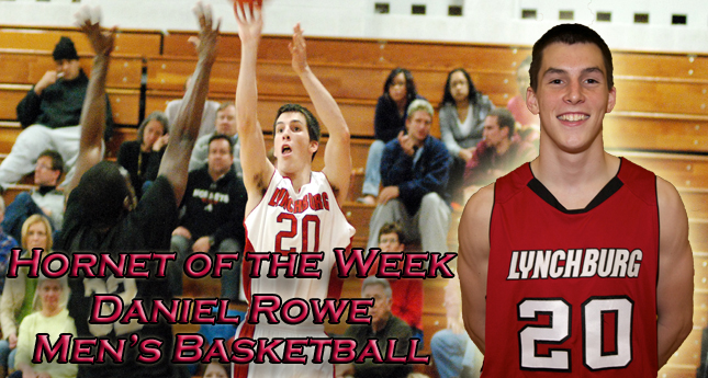 Q and A with Hornet of the Week Daniel Rowe