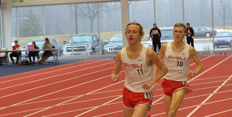 Tom Goforth had a solid finish in the 5,000 meters for the Cardinals at the Raleigh Relays...