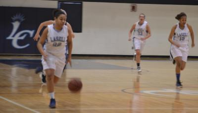 Lasell Comeback Comes Up Short in Women's Basketball Finale