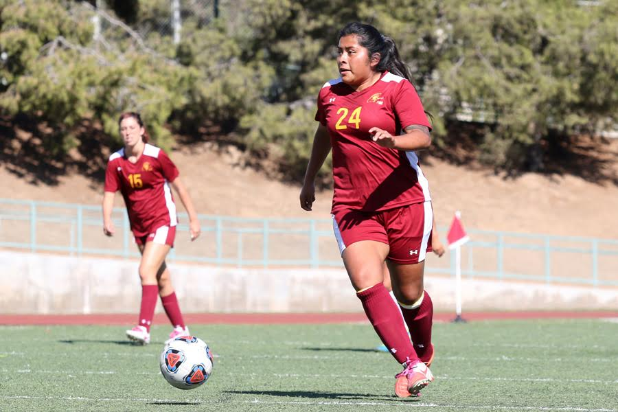 Ambrosio Nets Hat Trick As Women's Soccer Ends Drought