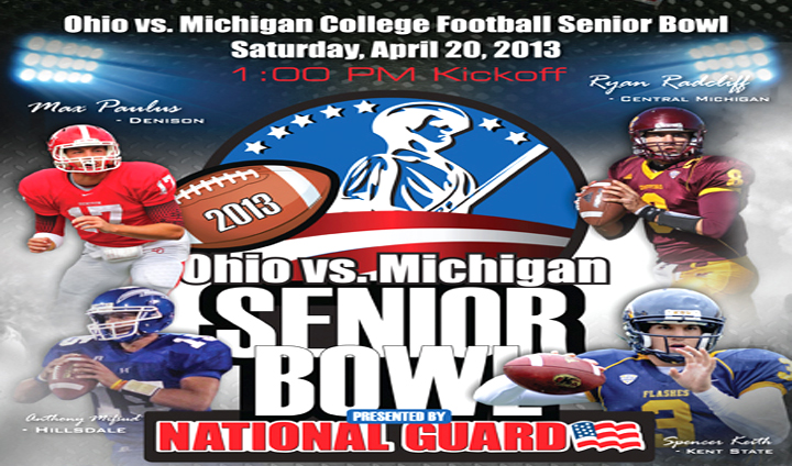 Bulldog Football Trio Chosen To Play In Ohio vs. Michigan College Football Senior Bowl