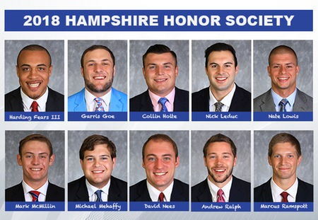 Washington University Lands 10 on NFF Hampshire Honor Society