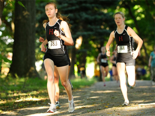 Women's cross country hosts annual alumnae meet
