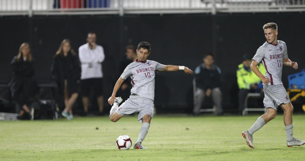 Men's Soccer Picks Up Road Win Against Cal Poly on Tuesday