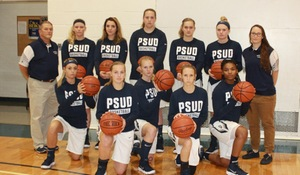 The Penn State DuBois Women's Basketball team finished their regular season with a record of 15-9.