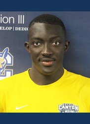 Cisse named Association of Division III Independents men's soccer Player of the Week
