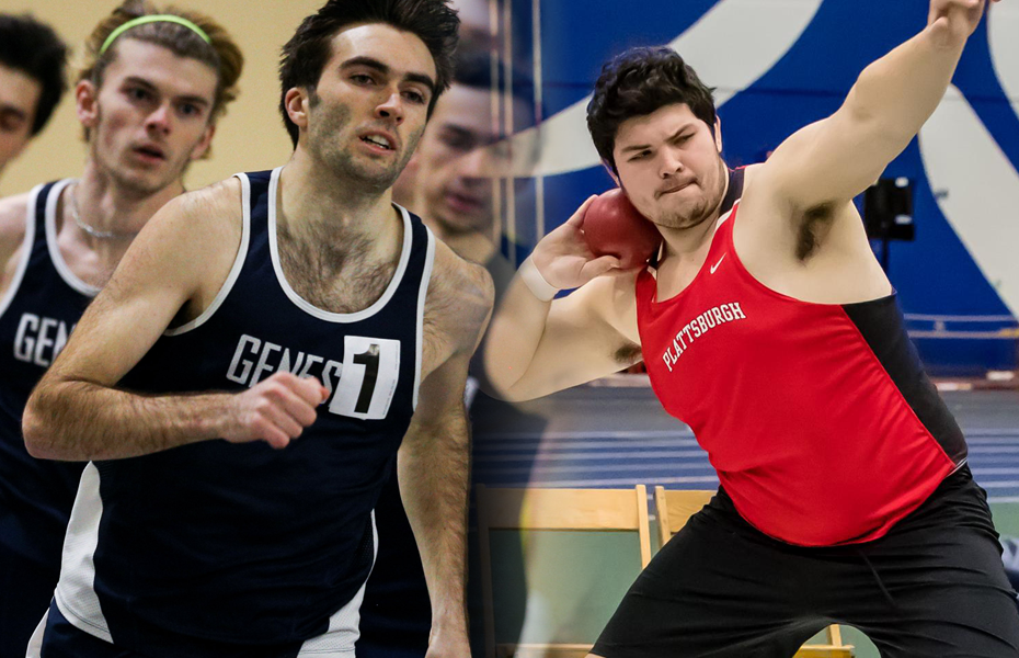 SUNYAC announces Men's Track and Field weekly honors