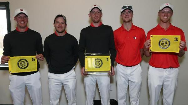 The Tigers took their sixth tournament title of the 2013-14 season. Photo by Bill Wagner, DePauw