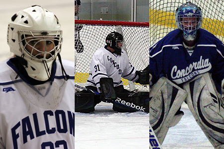 Freshmen goalies stepping up for CUW Hockey
