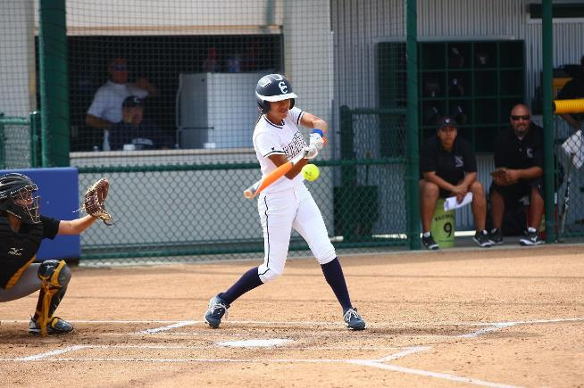 File Photo: Arianna Hernandez went 6-for-13 with nine RBI, as the Falcons won all four games at the Ventura Tournament