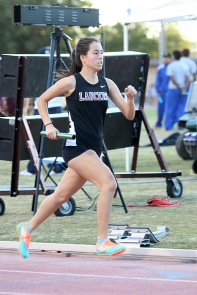 Franceska Millanponce returns to the Lancers from the 2016 track and field team.