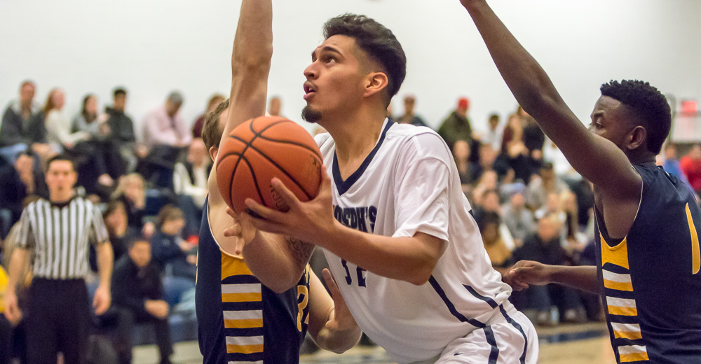 Sophomore Aaron Parra had 17 points and 8 rebounds, both team highs.