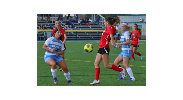 Medaille Pulls Away For Women's Soccer Win Over Wells