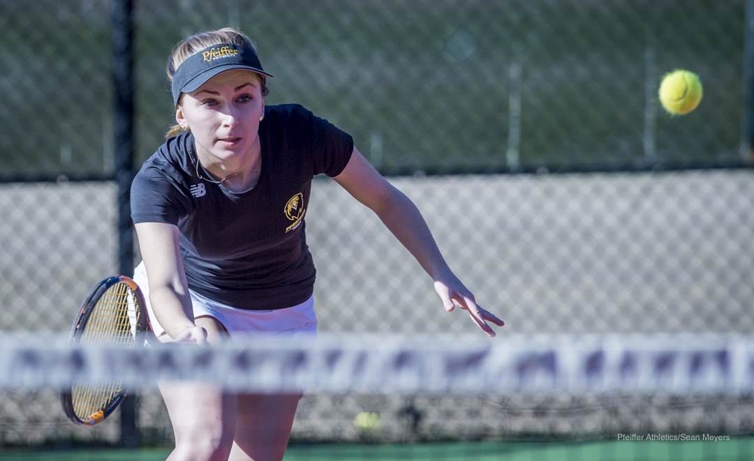 Pfeiffer Women's Tennis Gets Big Win at Ferrum