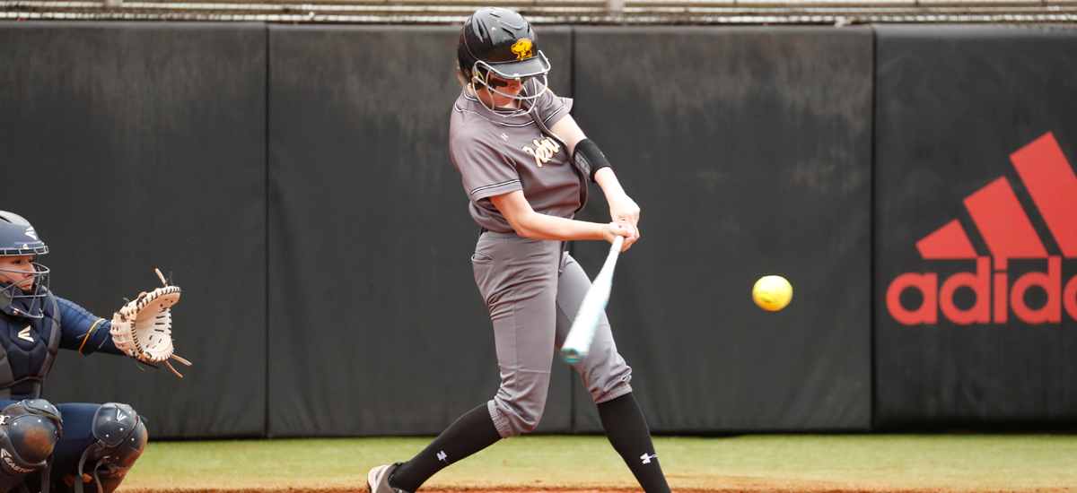 Pierce Continues Torrid Start at Plate, But Softball Falls to Lehigh