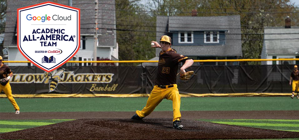 Senior Danny Cody was named to his first Academic All-American team of his career (Photo Courtesy of Alec Palmer)