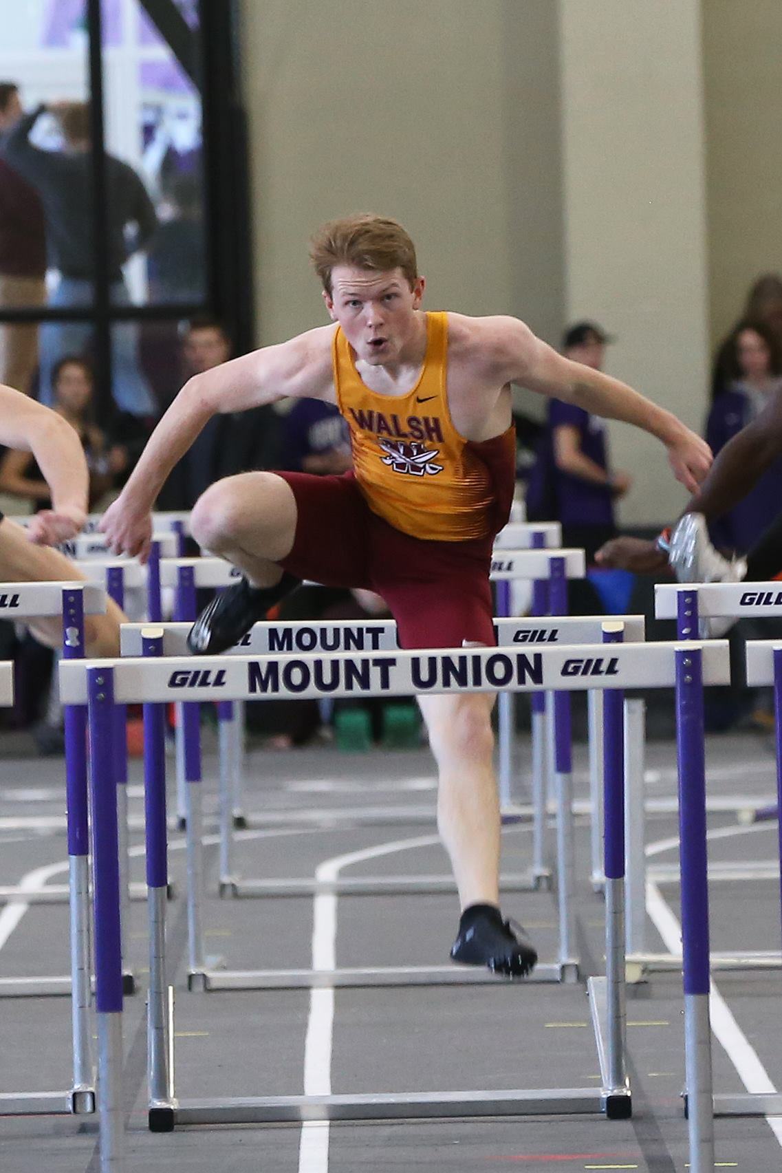 Records Matched as Men's Track Prepares for GMAC Championships