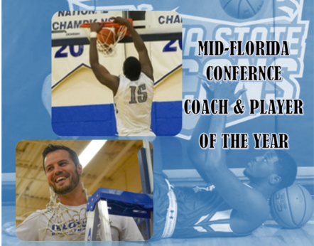 Daytona State College Men's Basketball Earns Title and Records Personal Accolades