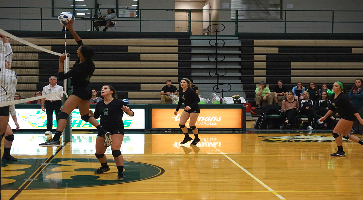 women's volleyball vs Butler County CC