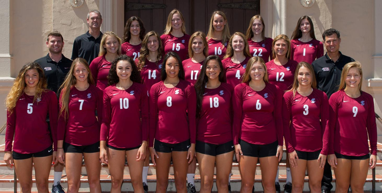 Volleyball Swept in Straight Sets At Gonzaga