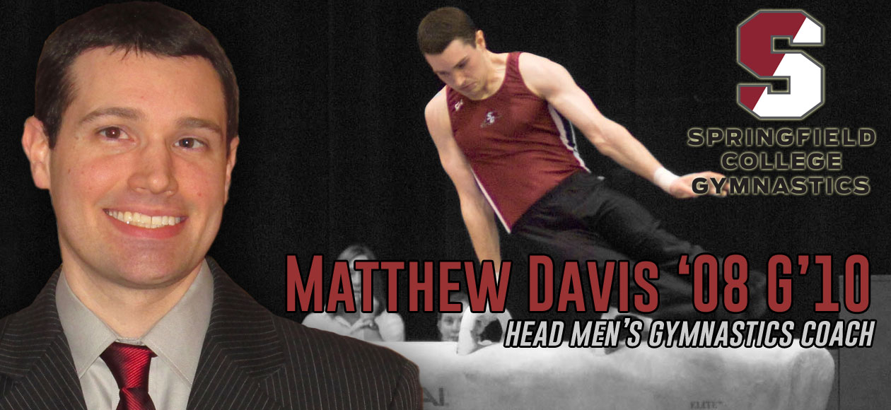 Matthew Davis '08 G'10 Named Springfield College Head Men's Gymnastics Coach